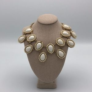 Francesca's White Statement Necklace